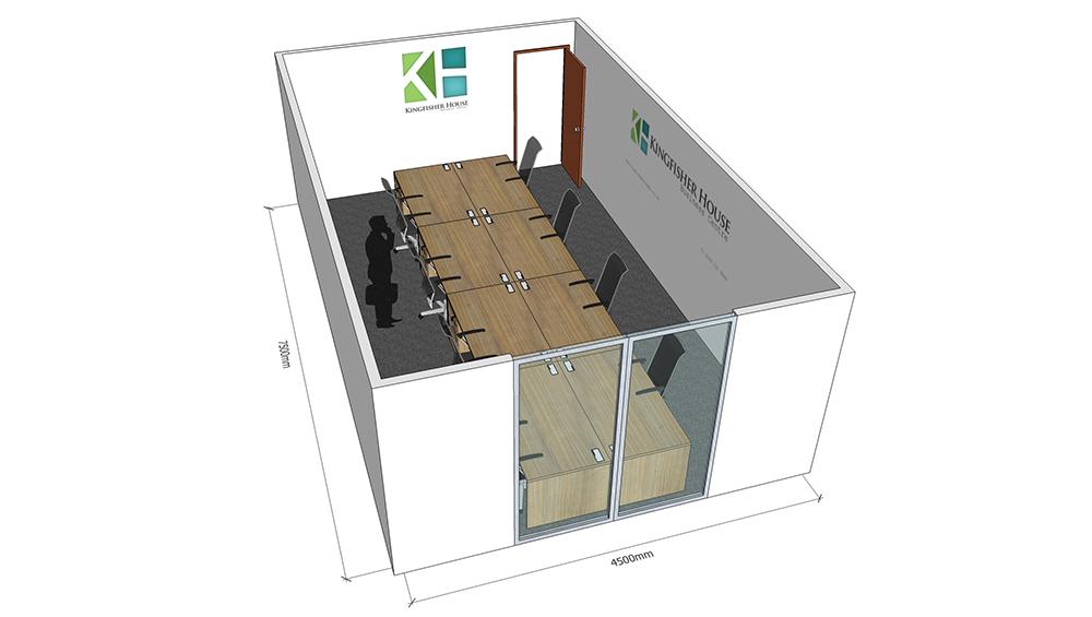 Office 25 floorplan